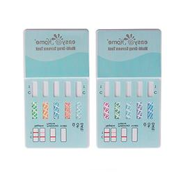 2 Pack Easy@Home 10 Panel Instant Drug Test Kits - Testing M