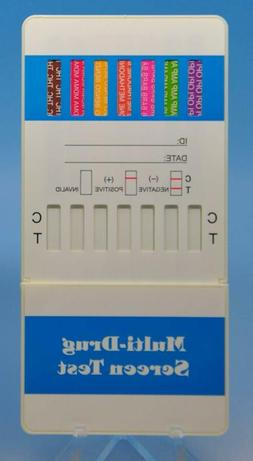 12 Panel Dip Card Test Kit, FDA Cleared, CLIA Waived and OTC