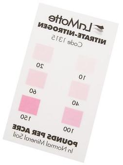 LaMotte 1315 Soil pH Test Kit Color Chart, Nitrate Nitrogen