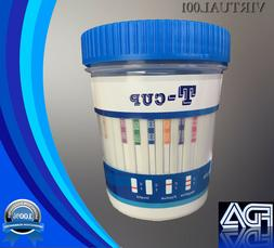 14 Panel Drug Testing Kit - 3 Urine Adulterants - FDA Cleare