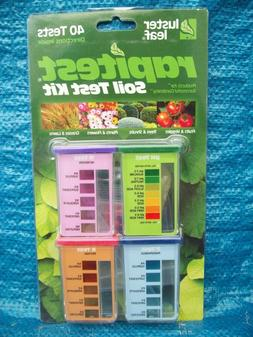 Luster Leaf 1601 Rapitest Soil Test Kit for pH, Nitrogen, Ph