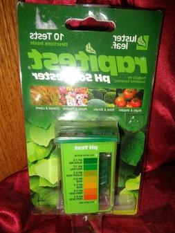 LUSTER LEAF 1612 RAPITEST Dirt Soil Plant Garden PH Meter Te