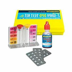 Poolmaster 2-Way Test Kit with DPD Tablets and Case - Basic