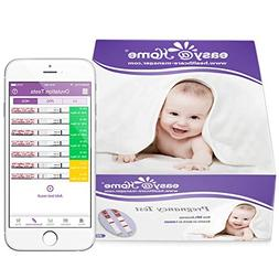 Easy@Home 40 Pregnancy  Urine Test Strips 40 HCG Tests