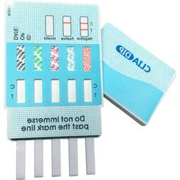 5 pack 5 panel drug testing kit