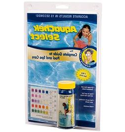 AquaChek 541604 Select 7-in-1 Pool or Spa Test Strips Comple