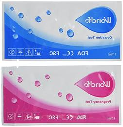 Wondfo Combo 40 Ovulation and 10 Pregnancy Urine Test Strips