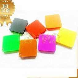 A Type Rubber Hardness Test Block Kit with 7 Color Block for