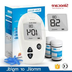 accu blood glucose meter and font b