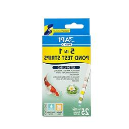 API POND 5 IN 1 POND TEST STRIPS Pond Water Test Strips 25-C