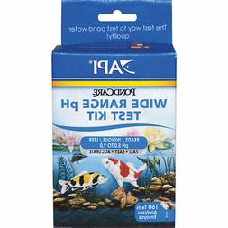 API POND WIDE RANGE pH TEST KIT 160-Test Pond Water Test Kit