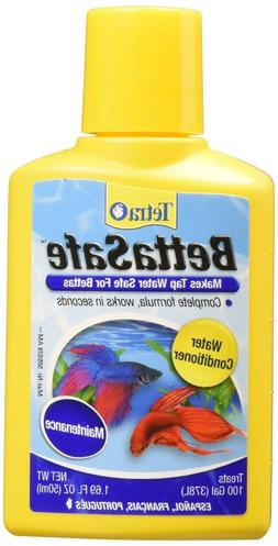 Aquarium Water Conditioner Fish Betta Bowl Safe Detoxifies C