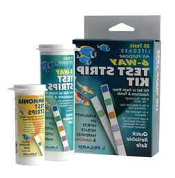 Lifegard Test Strips Aquatics 6 Way All Purpose Test Kit