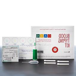 Blood Type Eldoncard Typing Test Kit Includes: 1 Eldoncard,