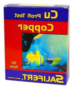 SALIFERT COPPER TEST KIT - 50 TESTS - AQUARIUM FRESHWATER OR
