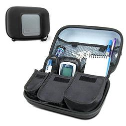 USA Gear Diabetes Travel Case and Organizer for Blood Glucos