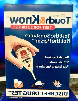 Touch & Know Discreet Home Drug Test Kit, 1 ea