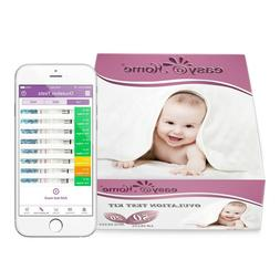 Easy@Home 40 Ovulation Test Strips and 17 Pregnancy Test Str