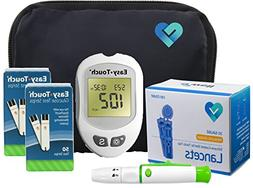 Easy Touch Diabetes Testing Kit, 100 Count | Easy Touch Mete