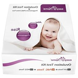 Easy@Home New FDA Registered 6 Progesterone  Test, 25 Ovulat