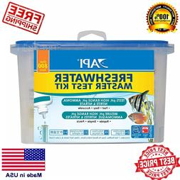 API FRESHWATER - SALTWATER MASTER TEST KIT 800 AQUARIUM FOR