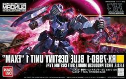 Bandai Gundam HGUC X-79BD-1 Blue Destiny Unit 1 EXAM HG 1/14