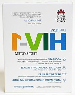 Home Access Express HIV-1 Test System - At-Home Test For The