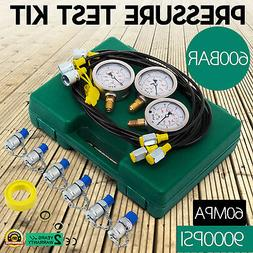 Hydraulic Pressure Test Kit for Excavator Stainless Steel Ac