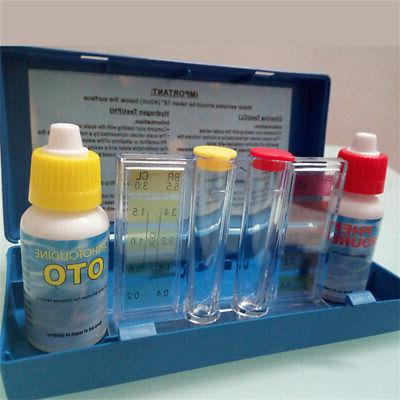 1 set ph chlorine water quality test