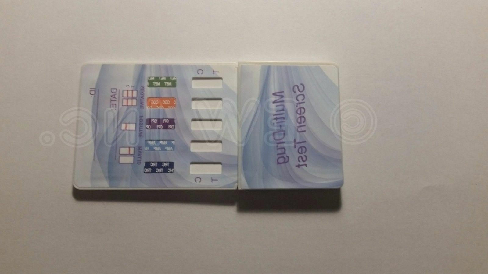 10 Panel Drug Test Kit - Drug Tests MARIJUANA COCAINE OPIATE