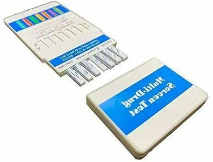 12 Panel Urine Test Dip Cards, One-Step, Rapid Detection Tes