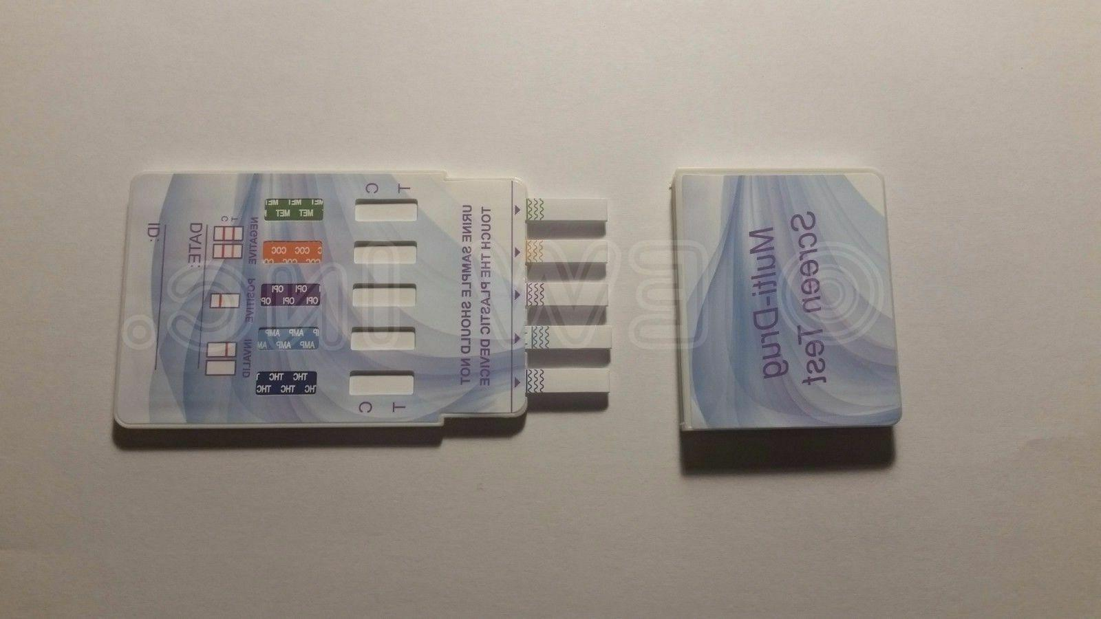 5 Pack Urine Test Strips Kit FDA Free