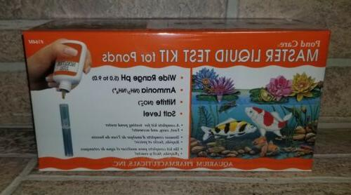API Pondcare Master Liquid Test Kit Fresh Water Pond KOI #16