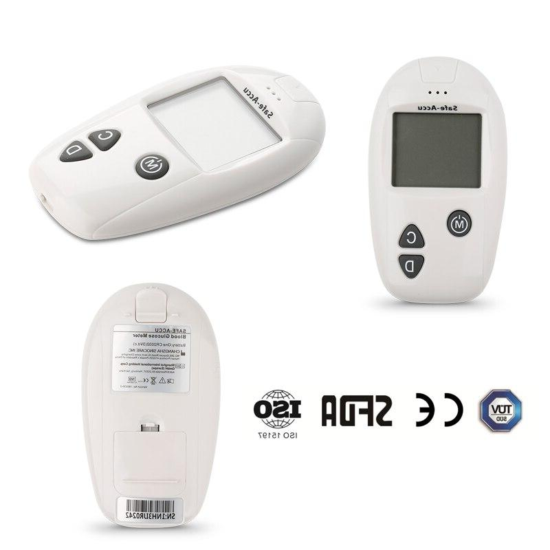 meter & <font><b>Test</b></font> & 50/100pcs <font><b>kit</b></font> meter Diabetes