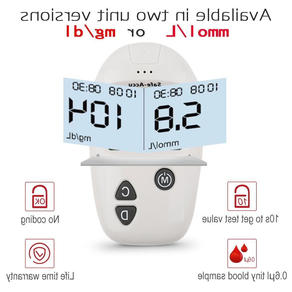 SINOCARE Accu meter & <font><b>kit</b></font> Blood meter