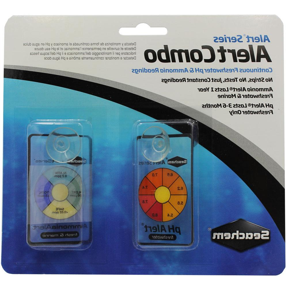 SEACHEM AMMONIA PH ALERTS PACK AQUARIUM SENSOR