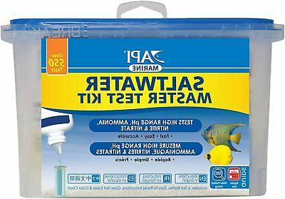 *API* Aquarium Pharmaceutical Saltwater Liquid Master Testin