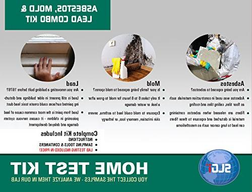 asbestos lead and mold combo test kit