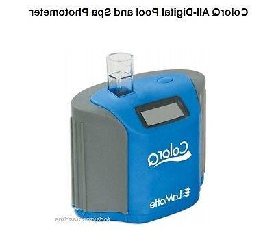 LaMotte #2056 ColorQ 7 pool water tester