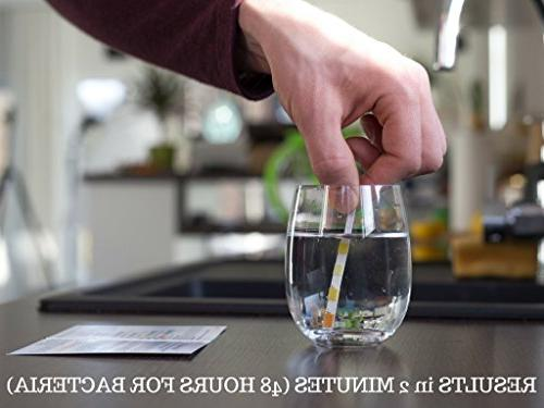Drinking For Municipal Tap Well - Simple Testing Strips Copper Bacteria, and