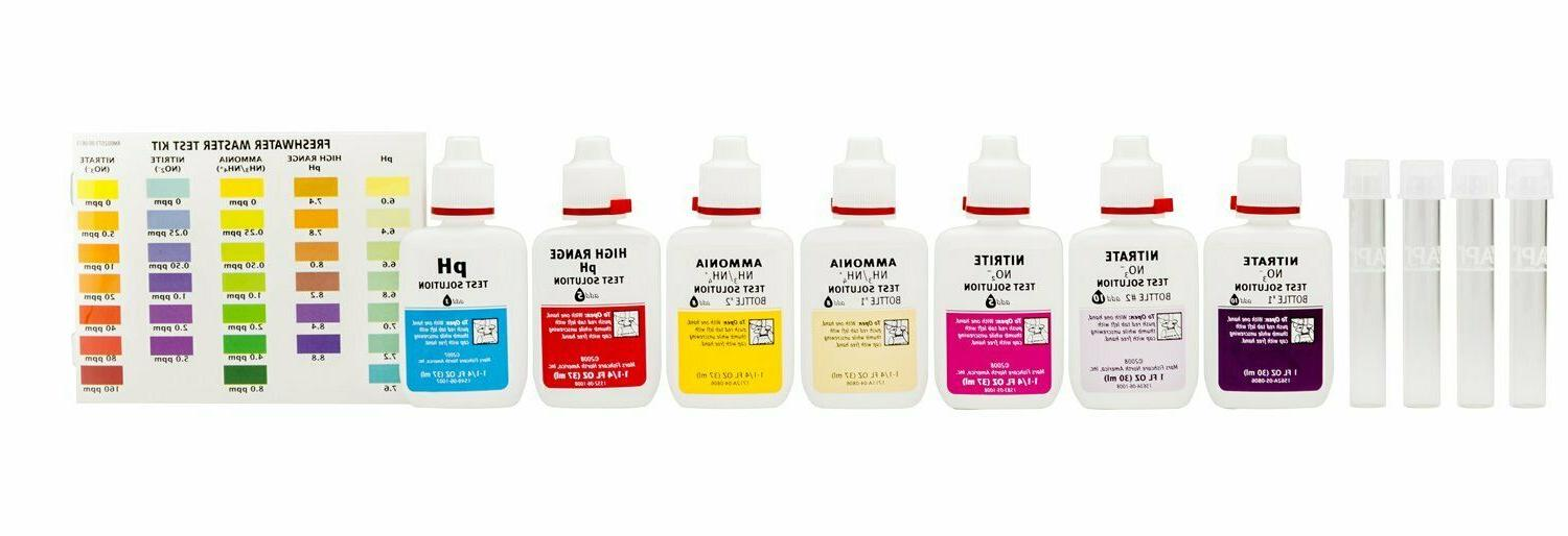 API Test Kit Liquid pH Ammonia Nitrite Nitrate