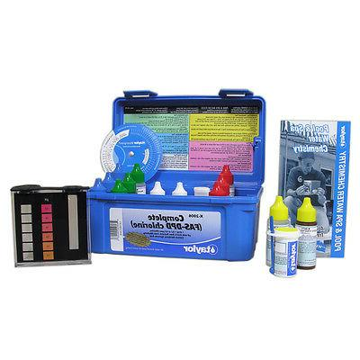 Taylor K-2006 Complete Chlorine Pool and Spa Test Kit