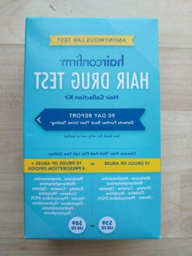 LOT OF 10-14 Drug Test / Hair 90 Day Report