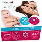 Ovulation Test Strips and Pregnancy Test Kit - 50 LH and 20