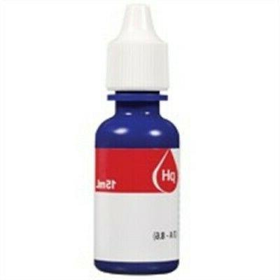 Nutrafin pH High Range Reagent Refill for Aquarium, 15ml