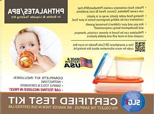 phthalates and bpa test kit 1 pk