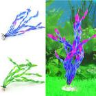 Plastic Aquarium Plants fresh/salt Water Fish Tank Ornament