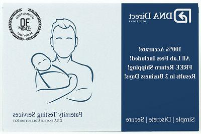 dna direct duo paternity test includes kit