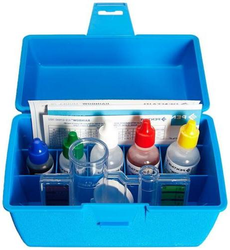 Pentair R151186 78HR All in One 4 Way pH and Chlorine Kit