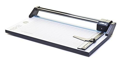 Rotatrim Professional Paper Precision Trimmer Self-Sharpening Precision Blades & Twin Steel Guide Rails